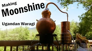 Banana Brandy - Making Ugandan Waragi (Moonshine)