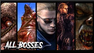Resident Evil 5 All Bosses with Cutscenes [Improved Quality HD Textures] PC, PS4, XBOX ONE (60ᶠᵖˢ) ✔
