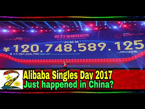 Alibaba Singles Day 2017| WTF just happened in China?