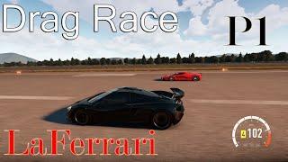 Forza Horizon 2 - DRAG RACE: Mclaren P1 Vs Ferrari LaFerrari