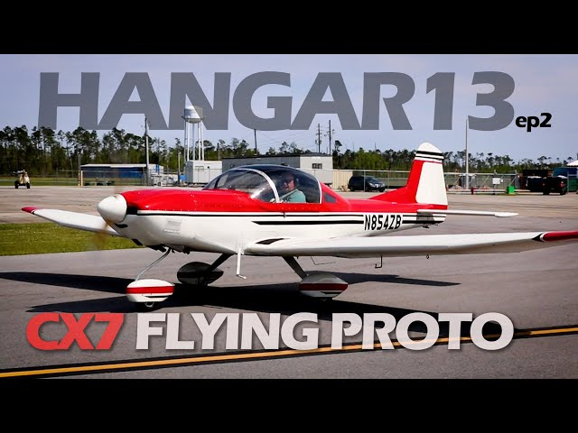Hangar13 The Flying CX7 Thatcher Aircraft Plans Built Airplane