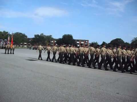 Marine Boot Camp parris Island Kilo Co. Graduation Ceremony Sept 7, 2012