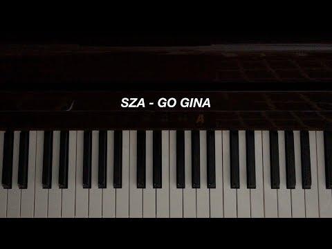 SZA - Go Gina (Piano Cover)