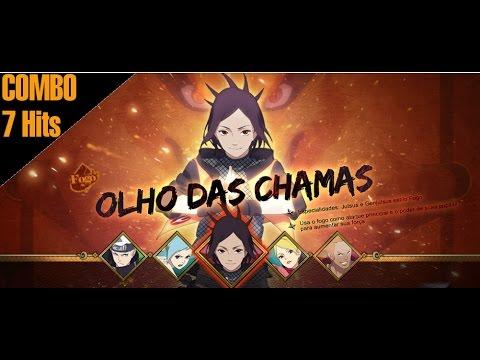 Naruto Online 4 Combo 78 Hits Selamento Olho Das