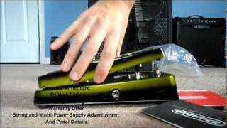 Unboxing of the Dunlop Kirk Hammett Signature Wah Pedal