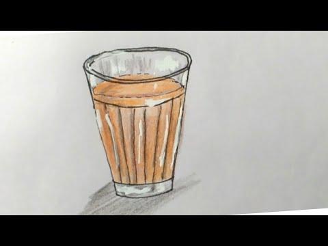 Drawing Tea Art