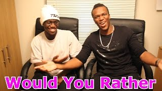 Would You Rather With My Bro