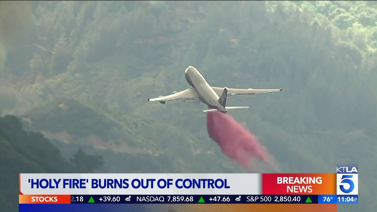 Silverado Canyon Fire Spreads to 4000 Acres, Mandatory ...