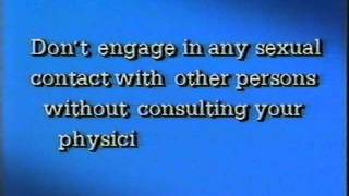 AIDS porno panic!  Amusing/amazing mid-'80s major-studio disclaimer