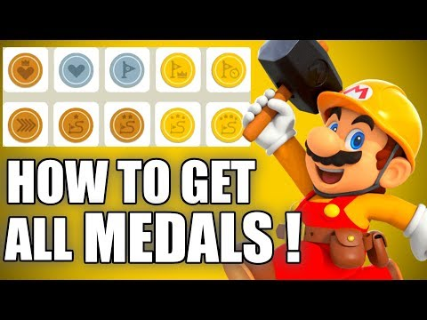 HOW TO GET ALL Medals In Super Mario Maker 2