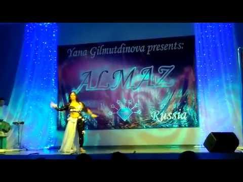 AZIZA CAIRO! Ah Law Laebt Ya Zahr / Gala Show / Russia