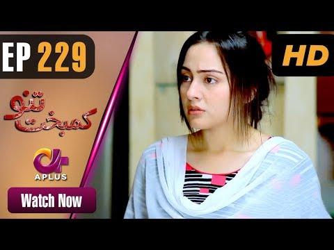 Kambakht Tanno - Episode 229 - Aplus ᴴᴰ Dramas