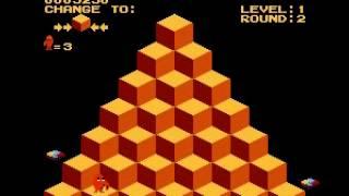 Q-bert - Q-bert (NES / Nintendo) - Vizzed.com GamePlay - User video