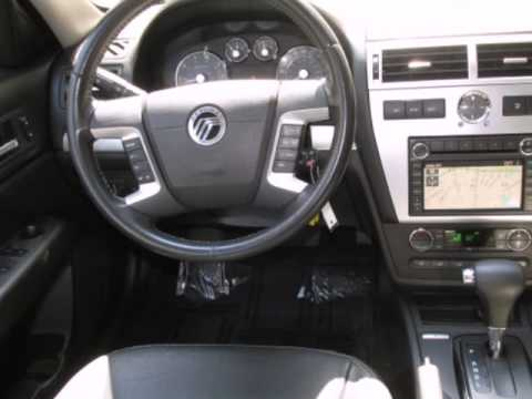 2008 Mercury Milan 4dr Sdn V6 Premier Awd Security System