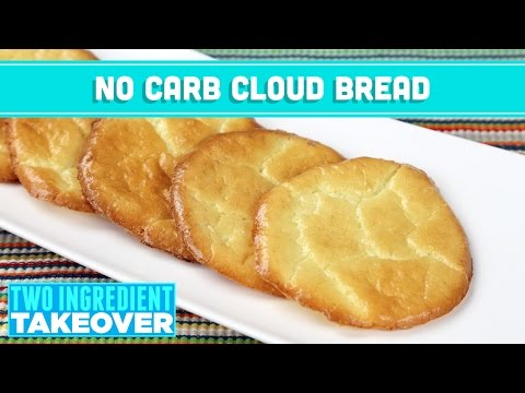 NO Carb Cloud Bread! 3 Ingredient Takeover - Mind Over Munch