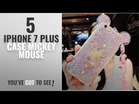 Top 5 IPhone 7 Plus Case Mickey Mouse [2018 Best Sellers]: 3D Luxury Cute Bling Giltter Diamond