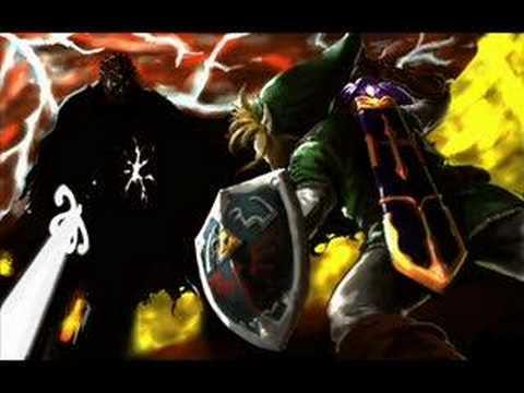 The Legend of Zelda Twilight Princess Music - Dark Lord Ganondorf - Final Battle - Swordfight -