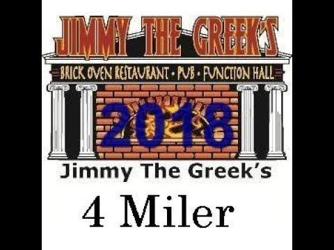 2018 Jimmy the Greek's 4 miler start
