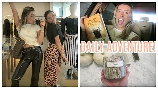 SHOPPING FOR FALL! ADVENTURES WITH LAUREN & LIZA!   Lauren Elizabeth Daily Vlog
