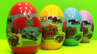 Cars Maisto unboxing surprise eggs toys