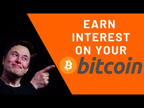 How To Earn Interest on Your Bitcoin