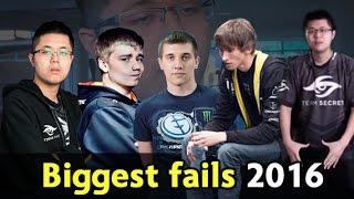 Biggest fails of 2016 — Dota 2