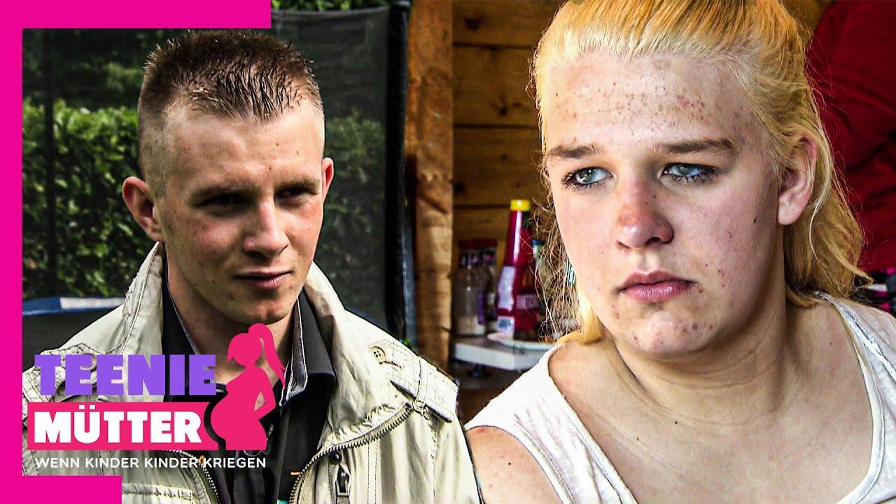 Nina angepisst 🤬 Freund Tomasz kümmert sich nicht um sein Kind 😤  Teenie-Mütter