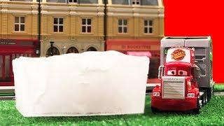 ŞİMŞEK MCQUEEN DONDU | Oyuncak Abi Tamir İstasyonu 3. Bölüm | Buz Kırma Oyunları