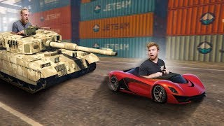 TANKS VS. SUPER CARS! | GTA5 [Ep 32]