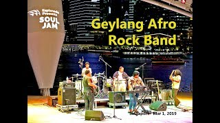 Friday evening with the Geylang Afro Rock Band, Singapore, Mar 1, 2019