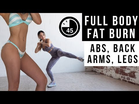 45-min-full-body-fat-burn-workout- -get-flat-abs,-lean-legs-&-arms- -no-jumping-ver-included