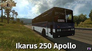 Euro Truck Simulator 2: Ikarus 250 Apollo [v.24.05.18]