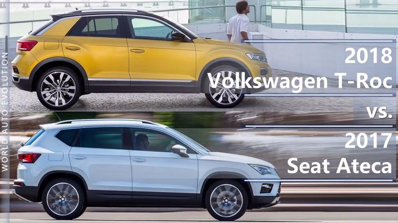2018 volkswagen t roc vs 2017 seat ateca technical comparison youtube. Black Bedroom Furniture Sets. Home Design Ideas