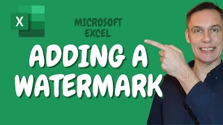 How to add a Watermark in Excel | Draft, Confidential or Custom Stamp