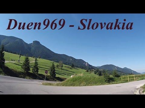 Slovakia Roads (1.) - Zázrivá - Terchová - Belá - Stráža - Krásňany - Žilina