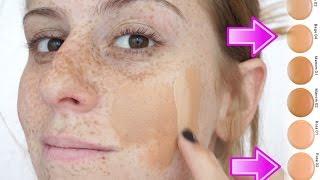 Como Encontrar a base PERFEITA para sua pele/ Como fazer a base ficar perfeita na pele