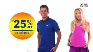 Fall 2016 Nike Sale Commercial | Tennis Express