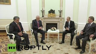 Russia: Putin welcomes even stronger ties with South Ossetia