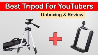 Unboxing TF-3110 Tripod | All Time Best Tripode Of Pakistani YouTuber