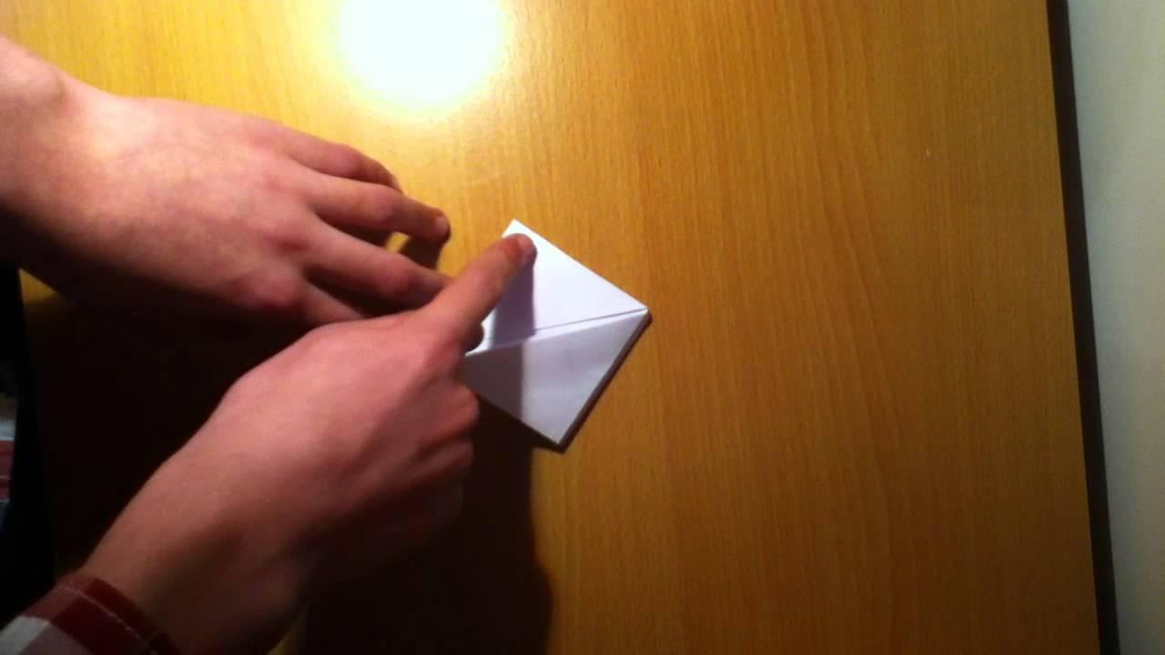 Comment faire une bombe eau avec une feuille de papier - Faire une enveloppe avec une feuille ...