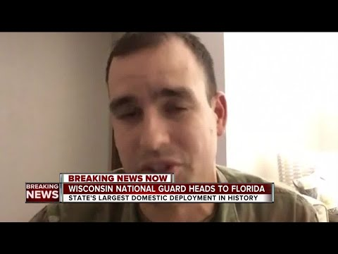 Wisconsin Guard to assist Hurricane Irma relief in Florida