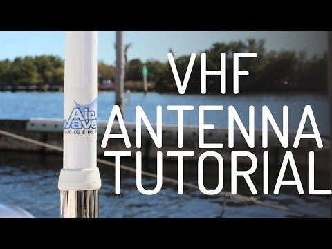 How To Install A VHF Marine Antenna - Easy Tutorial