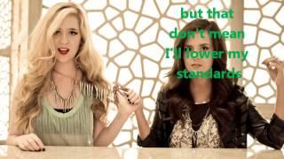 Megan & Liz New at this with lyrics