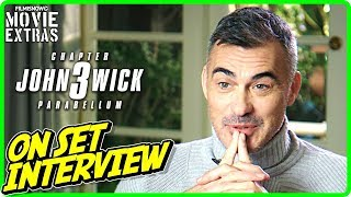 "JOHN WICK 3: PARABELLUM | Chad Stahelski ""Director"" On-set Interview"