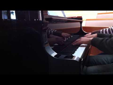 Silent Night Piano Duet