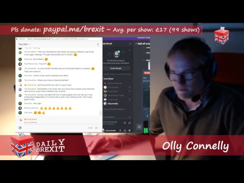 LIVE NOW: REMOANAZIS ~ Daily Brexit