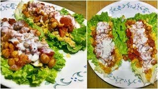 Lettuce & Chickpeas Wrap | Indian Wrap | Super Healthy and Flavoursome | MOU SEN