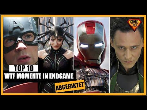 AVENGERS ENDGAME Top 10 WTF Momente | [Abgefaktet]