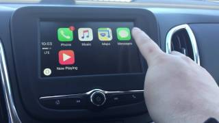Review of Apple CarPlay - 2018 Chevy Equinox - Devon Ford at Craig Dunn Motor City
