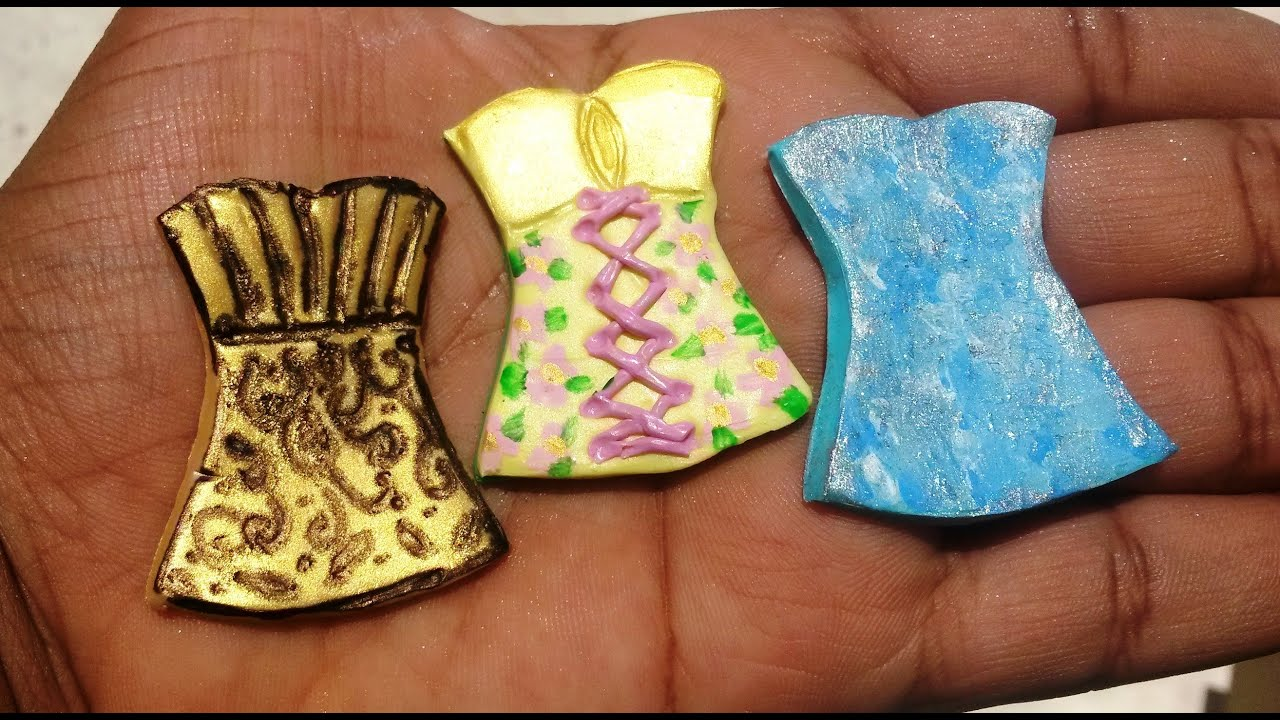d1ff6bedff 3 Polymer Clay Tutorials in 1 Corsets  Floral Corset
